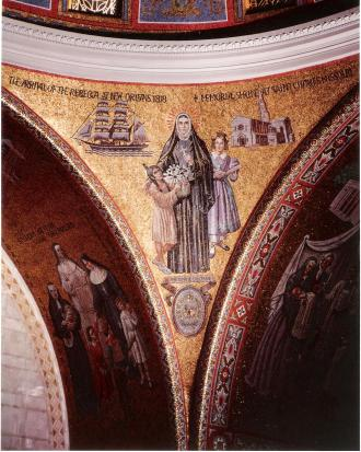 St. Rose Philippine Duchesne mosaic by Hildreth Meiere, Cathedral Basilica of St. Louis