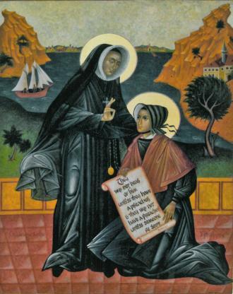 Saint Madeleine Sophie Barat and Saint Rose Philippine Duchesne
