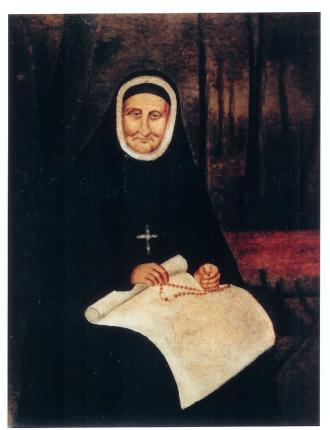 Portrait of Rose Philippine Duchesne, Anonymous, from St. Michaels, Louisiana