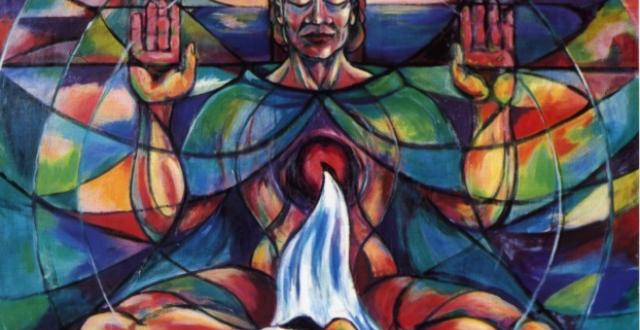 Cosmic Christ by Annett Hanrahan, RSCJ