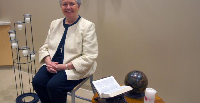 Kathleen Hughes, RSCJ, Presents Eucharist as Thanksgiving