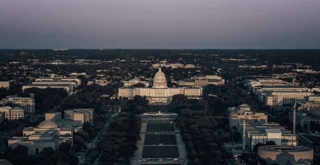 United States Capitol from top of the Washington Monument by Andy Feliciotti on Unsplash