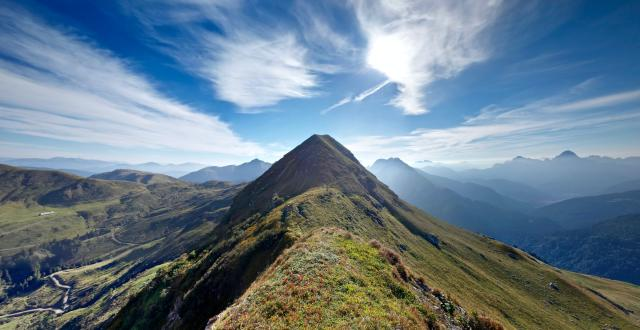 Mountain top photo by Pierre Van Crombrugghe on Unsplash