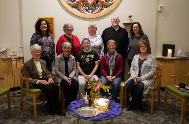 2019 Participants with Gail O'Donell, RSCJ, and Gina Rodee, RSCJ