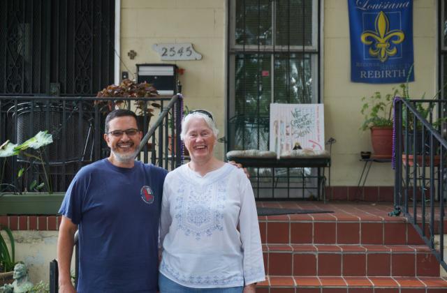 Sergio Vasquez (Left) and Bonnie Kearney, RSCJ (Right)