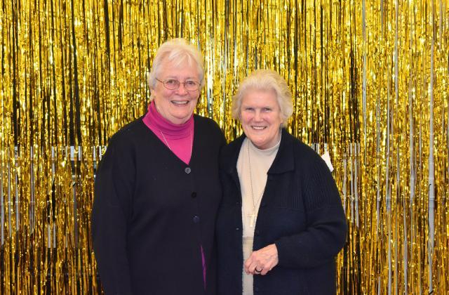 Sally Rude, RSCJ (left) Clare Pratt, RSCJ (Right)