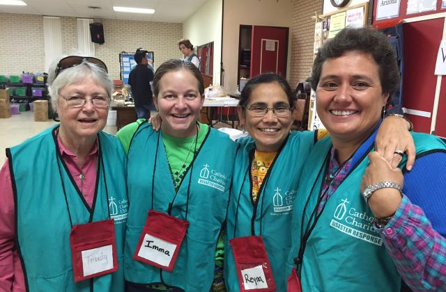 Sisters Considine, De Stefanis, Gonzalez and Buenfil (from the Mexican Province)