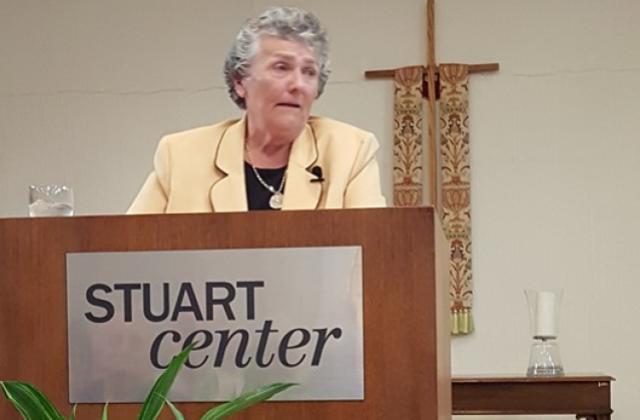 Sr. Joan Chittister Speaking at the Stuart Center