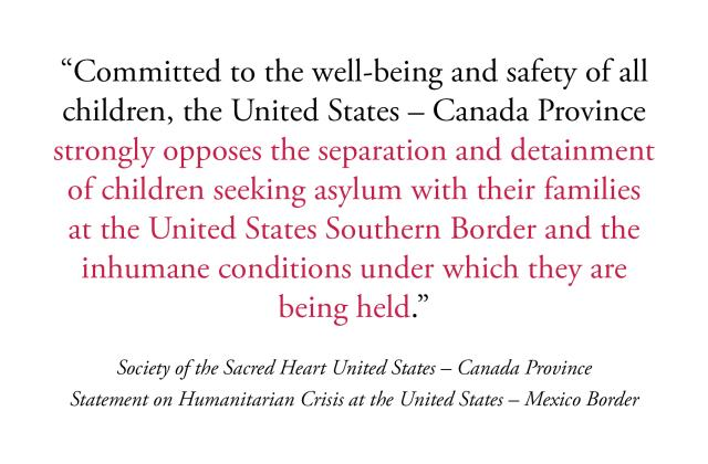 Statement on Humanitarian Crisis at the United States – Mexico Border