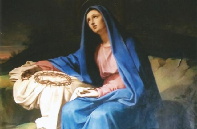 Our Lady of Sorrows, Villa Lante, Rome