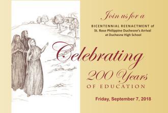 Celebrating 200 Years of Catholic Education