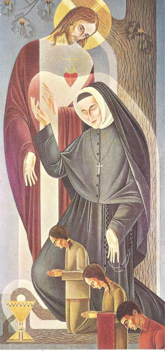 St. Rose Philippine Duchesne icon by Milton Frenzel (Villa Duchesne in St. Louis, Mo.)