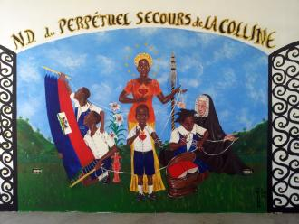 St. Rose Philippine Duchesne mural (La Colline School in Haiti)