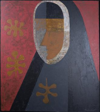 Saint Rose Philippine Duchesne, by William J. Schickel, acrylic on canvas, 1974