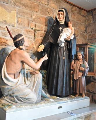 St. Rose Philippine Duchesne at Sacred Heart Church in Mound City, Kansas