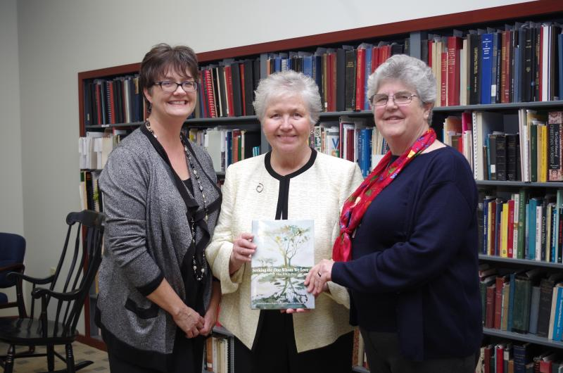Barb Dawson, RSCJ with Editors Kathleen HughBarb Dawson, RSCJ, (right) with Editors Kathleen Hughes, RSCJ, (center) and Therese Meyerhoffes, RSCJ and Therese Meyerhoff