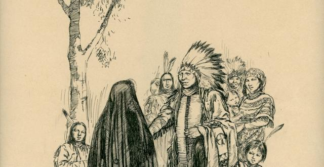 Philippine's arrival among the Indians