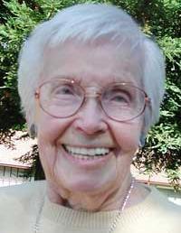 Sister Ida Rinne Died October 18, 2012