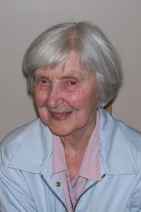 Sister Louise Lundergan, RSCJ
