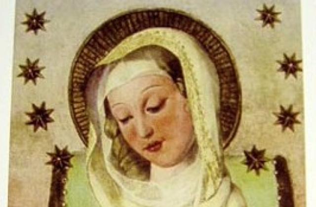 Mater Admirabilis (Bust) Card.