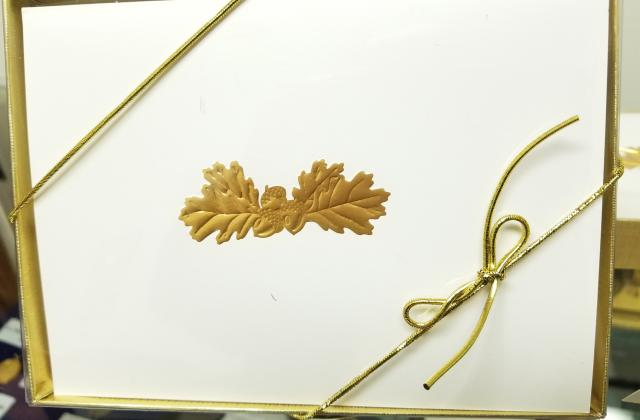 Acorn and Oak Leaf Notecards.