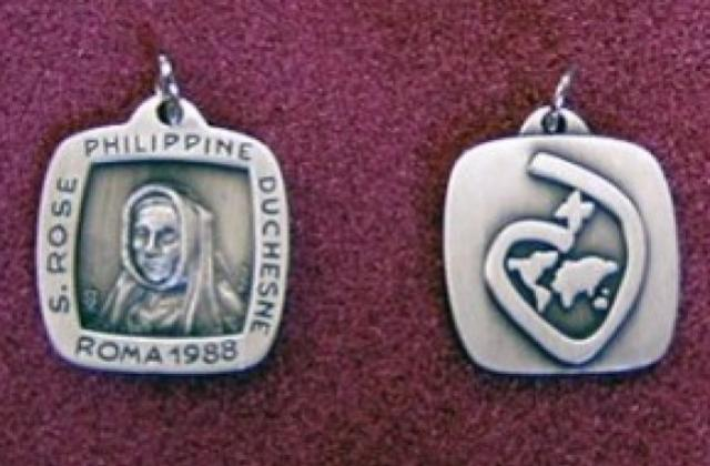 St. Philippine – Square Medal.