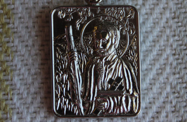 St. Francis Regis Medal – Silver plate