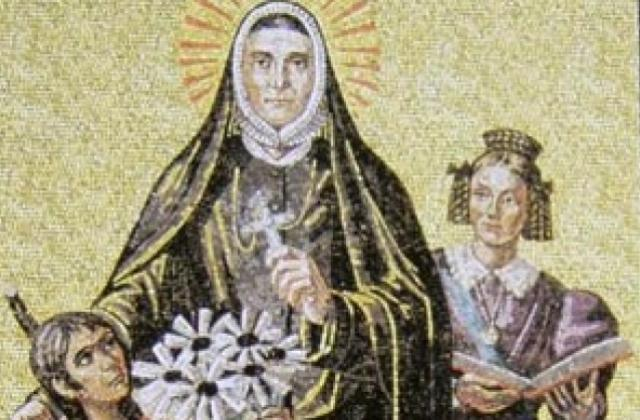 St. Philippine Mosaic Card.